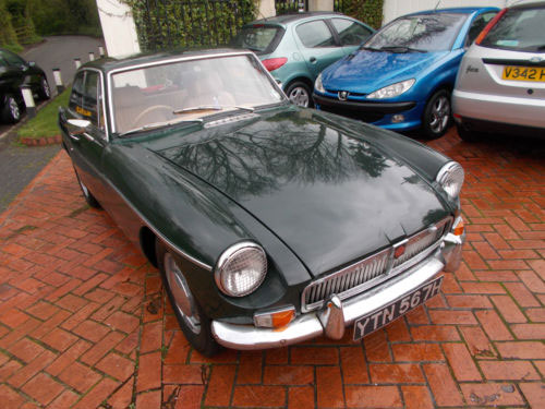 eBay watch: 1960s MGB GT Coupe 1.8 Automatic car