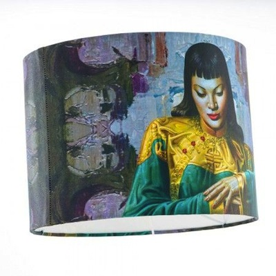 Lady from Orient lampshade