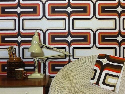 Geometric wallpaper sarah jane