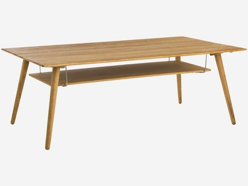 Vince oak coffee table