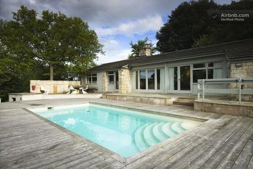 1960s poolhouse