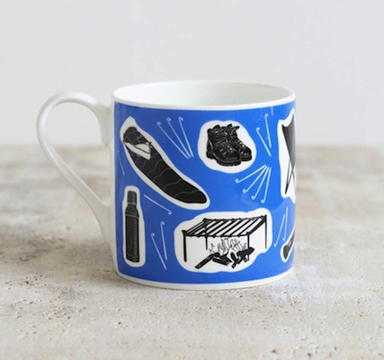 Camping mugs snowden flood