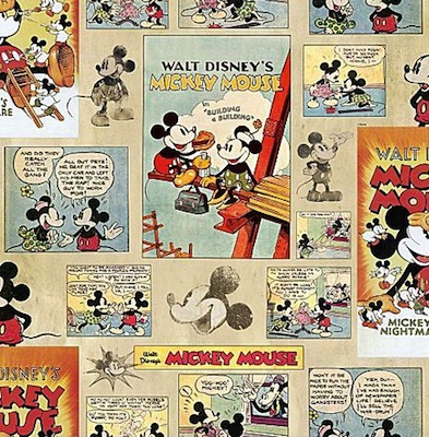 Mickey mouse detail