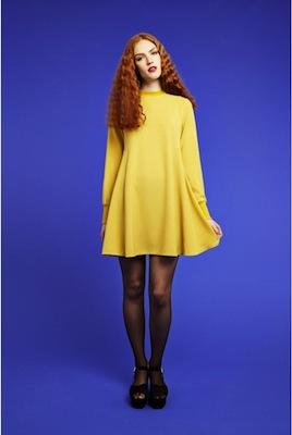 Benecia dress joy yellow