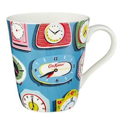 Clocks mug cath kidston