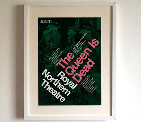 The Smiths albums as theatre posters by Standard Designs