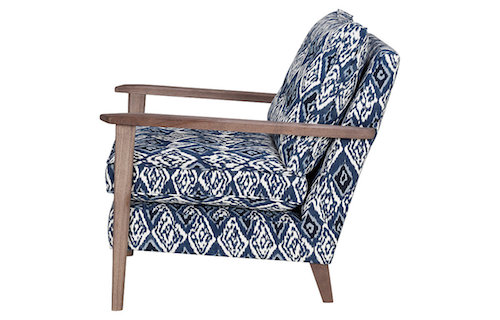 Loen armchair side