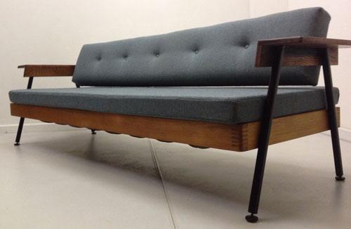 EBay Watch 1950s Midcentury Style Sofa Bed Retro To Go