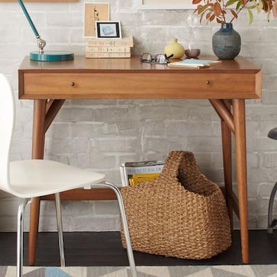 Acorn mini mid century desk