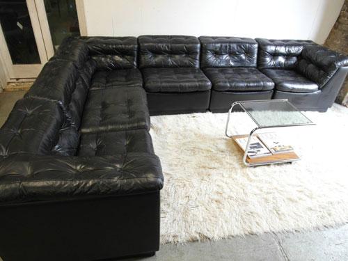 Sofas Donu0027t Get Much Bigger Than This 1970s Danish Modular Sofa On EBay.