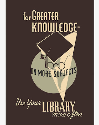 Greater Knowledge poster