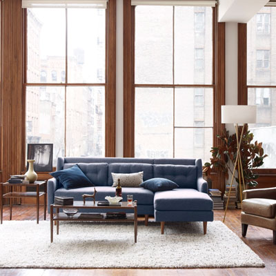 West3 : crosby sectional - Sectionals, Sofas & Couches