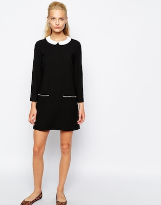 Mango retro shift dress