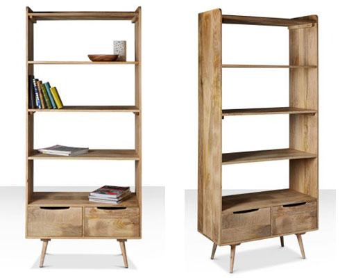 Vintage Style Bookcase Amazing Bookcases