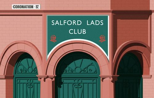 Salford lads club detail