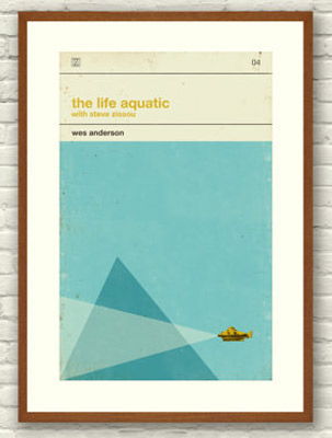 Wes Anderson movie posters
