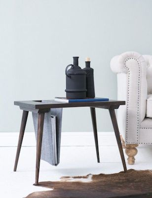 Side table rose & grey