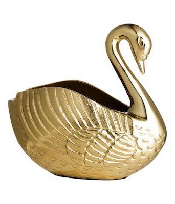 Swan vase H&M