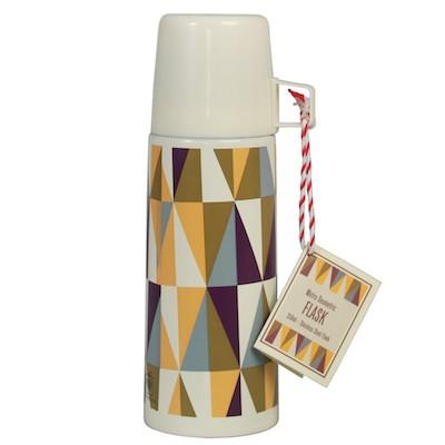 Metro geometric flask