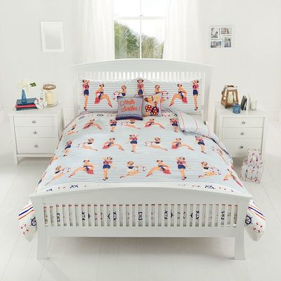 Sailor pin-ups duvet george asda