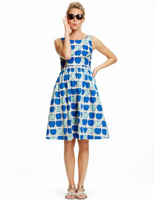 Boden blue apples