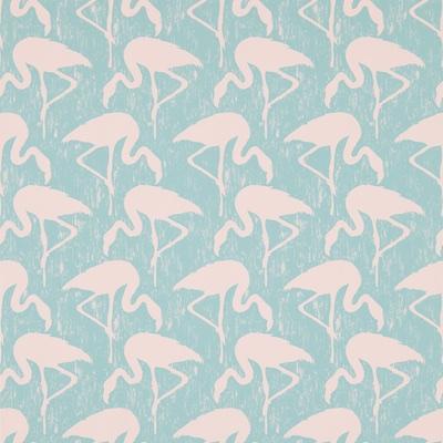 Sanderson flamingo wallpaper