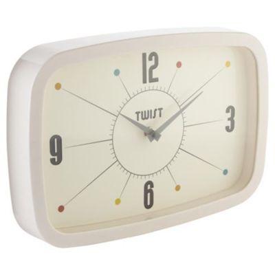Tesco twist clock