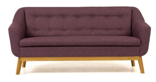 Retro Style Paula Sofa By Woodman Retro To Go