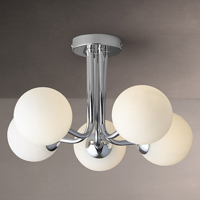 Odyssey five arm art deco style ceiling light at john lewis if you want something original with this look be prepared to spend big but if you want this odyssey five arm ceiling light at john lewis aloadofball Images