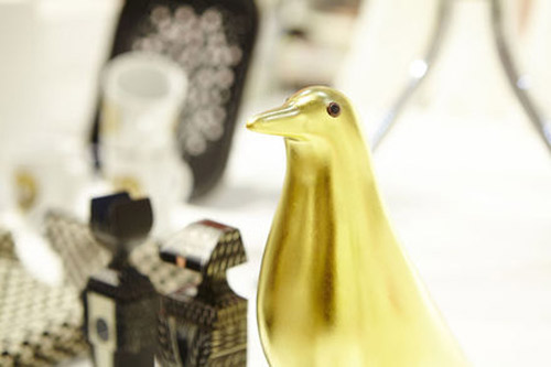 Limited gold leaf edition of the Eames House Bird by Charles & Ray ...