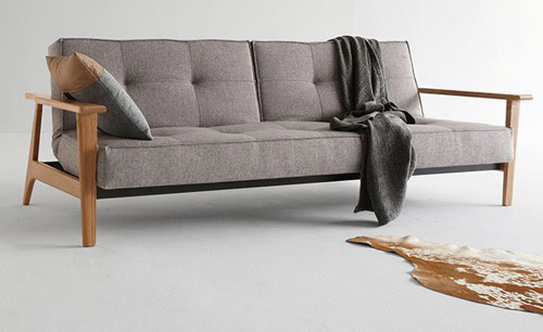 Pablo Scandinavian Style Sofa Bed At One Deko Retro To Go