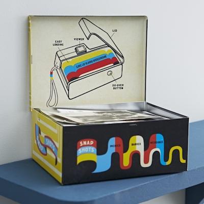 Retro camera box