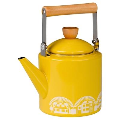 Minimoderns enamel kettle