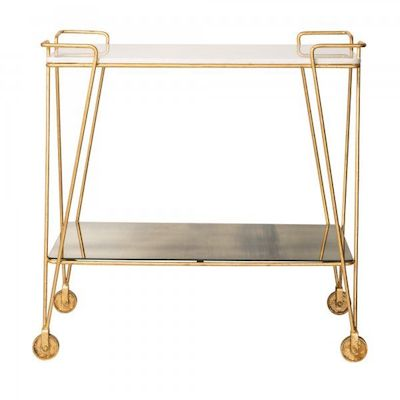 Luxe bar trolley