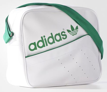 de5ca6c882 Adidas vintage-style perforated airliner bag - Retro to Go