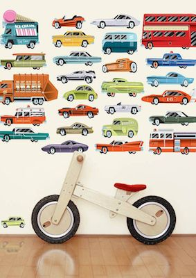 Highway wall stickers