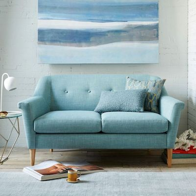 Finn sofa west elm room