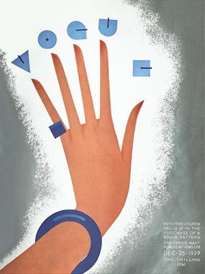 Vogue cover print 1929