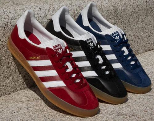 adidas gazelle red leather