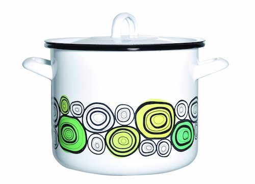 Retro Kitchen Muurla Onions Enamel Range Retro To Go
