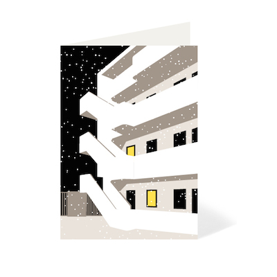 Isokon christmas card