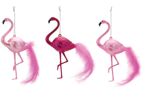 If Your Tree Is Looking Just A Little Too Cly And Lacking That Bit Or Kitsch You Can Always Add Throw These Pink Flamingo Decorations At Paperchase Into