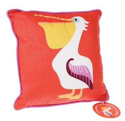 Pelican retro cushion