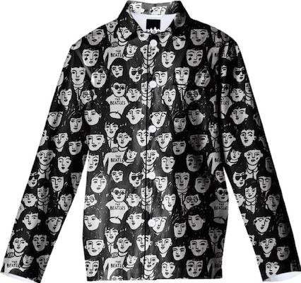 Beatles clothing printed peanut