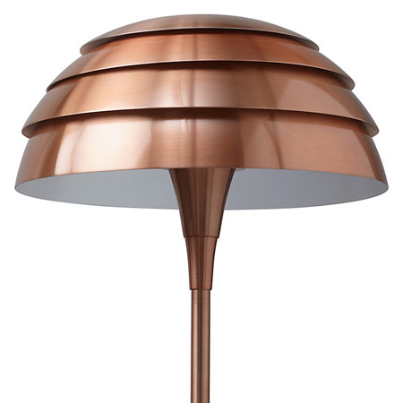 John lewis scandinavian style oslo floor lamp in copper retro to go os3 aloadofball Image collections