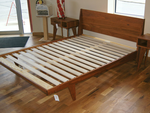 Handmade Midcentury Style Bed By Ty Fine Furniture Retro To Go