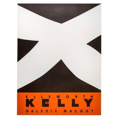 Ellsworth Kelly poster