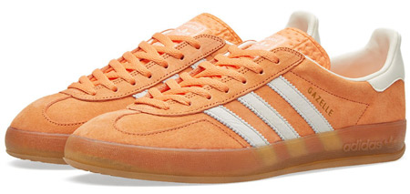 New reissues of the Adidas Gazelle Indoor trainers in turquoise ...