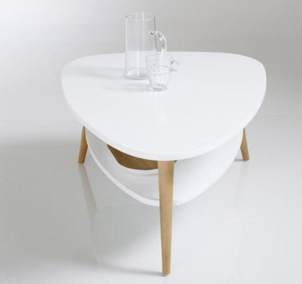 Beautiful Jimi Vintage two-tier retro coffee tables at La Redoute - Retro to Go FL69