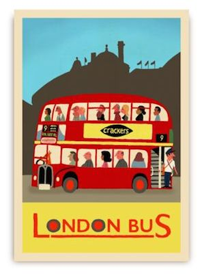 Paul Thurlby London postcards